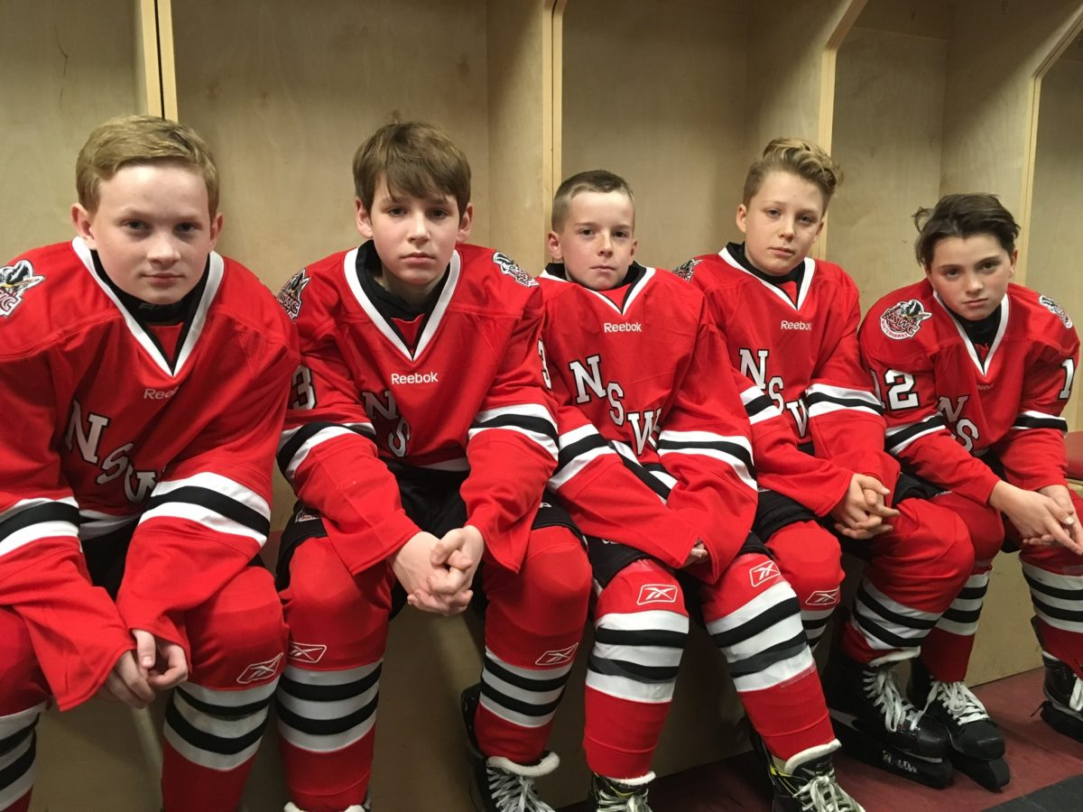 peewee a2 game faces